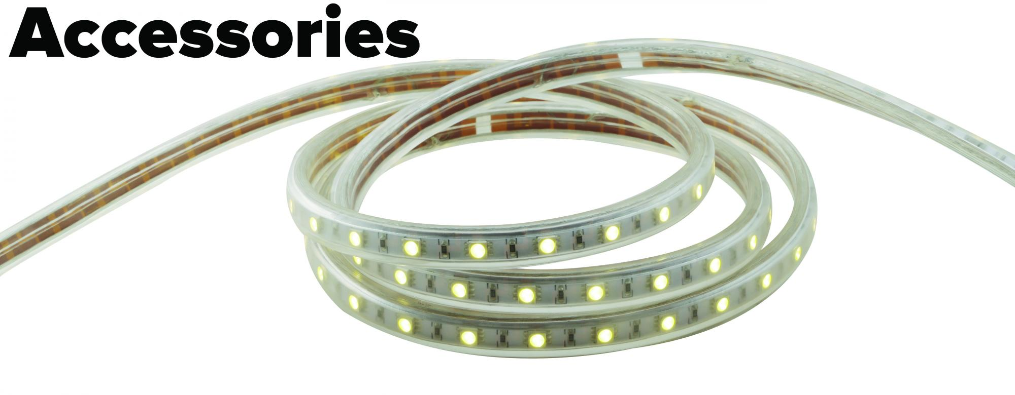 Led flat rope light accessories elco lighting led flat rope light accessories mozeypictures Gallery