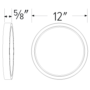 12″ Round Sky Panel™