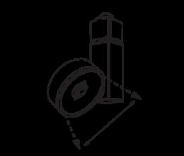 Beam Angle Options. Standard 38º *Optional 15º and 24º*