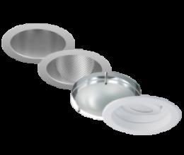 Downlight, Wall Wash, Drop Glass & Adjustable *Trim Options*